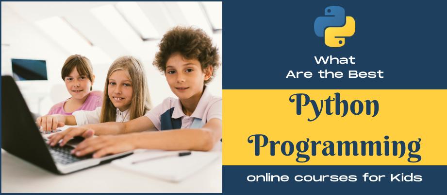 online Python classes for kids